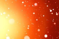 Abstract holiday orange background. Royalty Free Stock Image