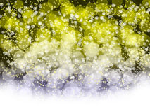 Abstract holiday's background with bokeh Royalty Free Stock Image