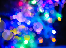 Abstract holidays backgrounds with beauty bokeh and lights Stock Image