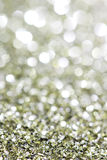 Abstract holidays silver and brass light on background Royalty Free Stock Image