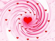 Abstract for holidays - Valentines day Royalty Free Stock Photography