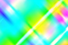 Abstract holographic background with rainbow beams of light from prism dispersion effect.  vector illustration