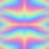 Abstract holographic vector seamless background. Stock Image