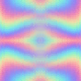 Abstract holographic vector seamless background Stock Image