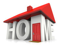 Abstract Home Royalty Free Stock Images