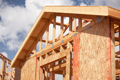 Abstract Home Construction Site Royalty Free Stock Image