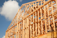 Abstract Home Construction Site Stock Images