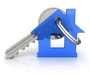 Abstract home and key Stock Photography