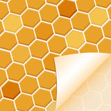 Abstract honey background Stock Photos