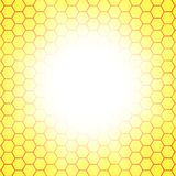 Abstract honeycomb background.  blurry light Stock Photography