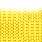 Abstract honeycomb background.  blurry light Royalty Free Stock Photo