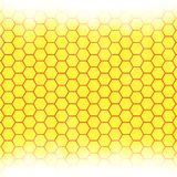 Abstract honeycomb background.  blurry light Royalty Free Stock Images