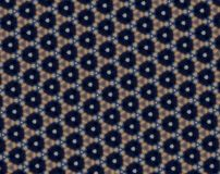 Abstract honeycomb pattern Stock Image