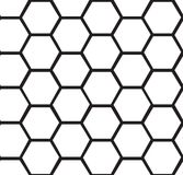 Abstract honeycomb seamless background Stock Photo