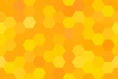 Abstract honeycomb seamless pattern royalty free illustration