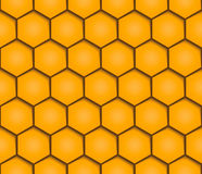 Abstract honeycombs background seamless geometric pattern Royalty Free Stock Image