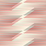 Abstract Horizontal Stripe Background. Seamless Geometric Patter Stock Photography