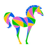 Abstract horse Stock Images
