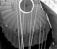 Abstract hot air balloon Stock Image