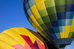 Abstract of hot air balloons Royalty Free Stock Photography
