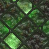 Abstract- hot stained glass Stock Photography