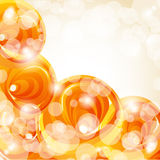 Abstract hot summer background Royalty Free Stock Photo