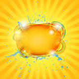 Abstract hot summer background. Stock Image
