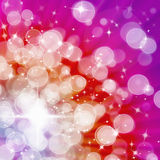 Abstract of Hot tone Aura White bokeh stock photography