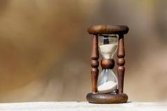 Abstract hourglass Stock Image