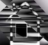 Abstract house Royalty Free Stock Photos