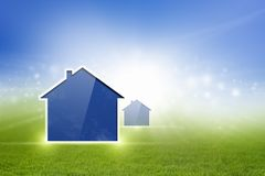 Abstract house Royalty Free Stock Image