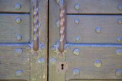 abstract  house  door     in italy  lombardy           closed  n Royalty Free Stock Photos