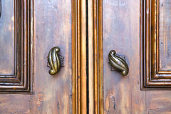 Abstract  house  door     in italy  lombardy     closed  nail Stock Photos