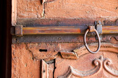 Abstract  house      in italy  lombardy       closed  nail rusty Royalty Free Stock Image