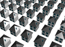 Abstract Housing Buildings Background Royalty Free Stock Photography