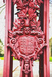 abstract hout op de englan antieke vloer en de achtergrond van Londen Stock Fotografie