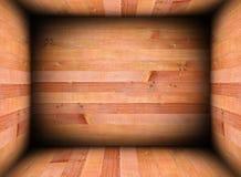 Abstract houten binnenland voor achtergrond Stock Foto's