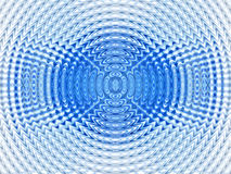 Abstract Hypnotic Blue Background Stock Image