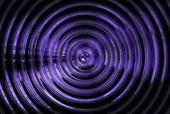 Abstract hypnotic blue background Stock Images