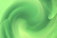 Abstract hypnotic green background Royalty Free Stock Image