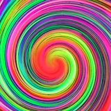 Abstract Hypnotic Swirl. A colorful twirl that creates an hypnotic background vector illustration