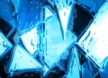 Abstract ice background Stock Photos