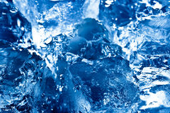 Abstract ice background Stock Photo