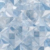 Abstract ice geometric background Stock Image