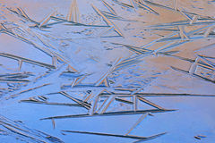 Abstract Ice Pattern Royalty Free Stock Image