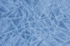 Abstract ice pattern in winter Royalty Free Stock Photography