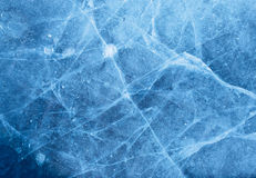 Abstract ice texture with air bubble Stock Photography