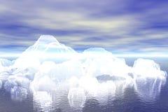 Abstract iceberg Royalty Free Stock Photos
