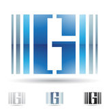 Abstract icon for letter G Stock Images