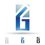 Abstract icon for letter G Royalty Free Stock Photo